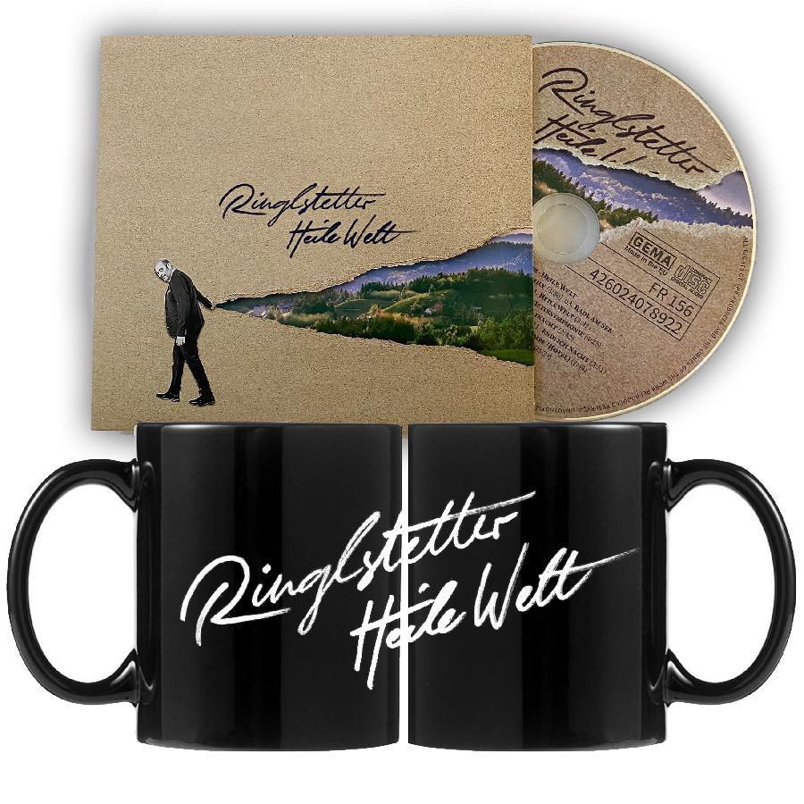 CD + Coffe mug Heile Welt Bundle
