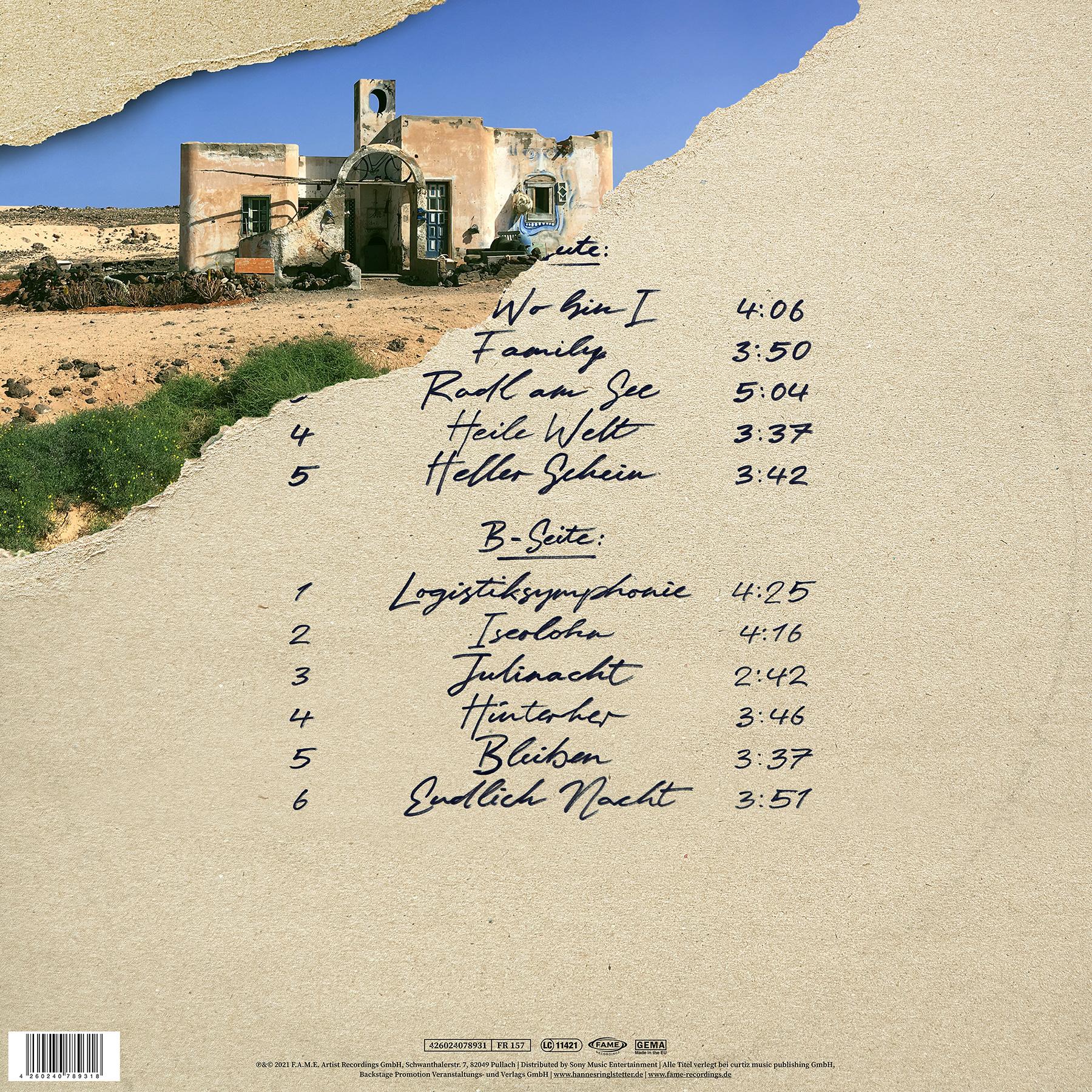 Ringlstetter Heile Welt LP
