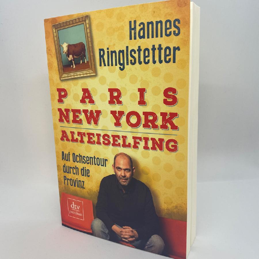 Book Paris. New York. Alteiselfing. Das Buch